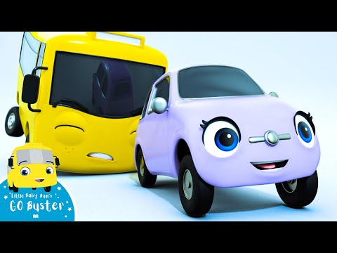Go Buster - Buster On Ice   BRAND NEW SERIES   Kids Cartoon   Little Baby Bum