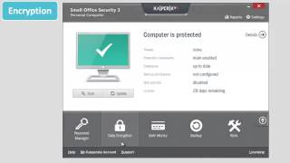 How to protect important data in Kaspersky Small Office Security 3