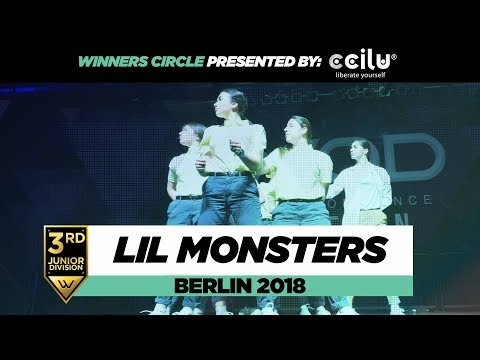 Lil Monsters | 3rd Place Junior Division | Winners Circle | World of Dance Berlin 2018