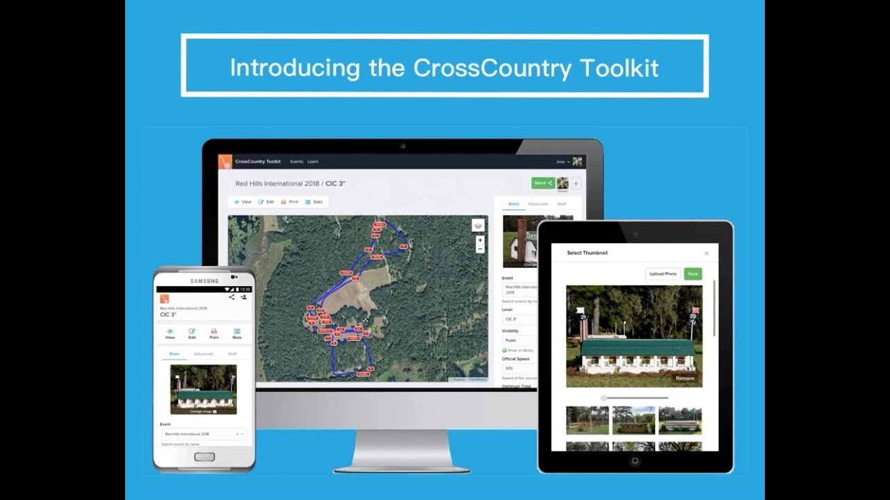 For Event Organisers Crosscountry App