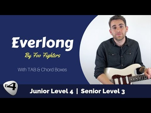 How to Play Everlong by the Foo Fighters - Guitar Lesson with TAB ...