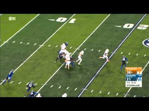 Highlights vs. Kentucky - Evan Berry Kick Return Touchdown