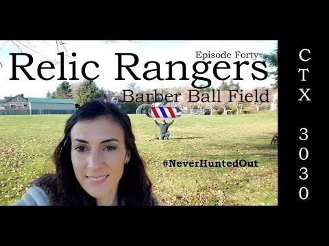 Relic Rangers- Metal Detecting Deep Silver Coins at Hunted Out Park and Killing It! Minelab CTX 3030