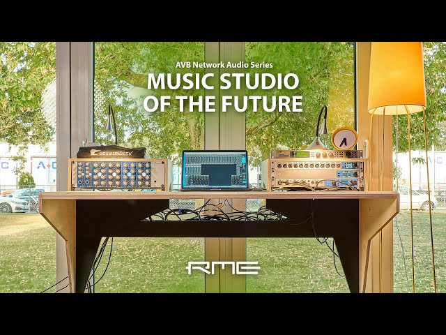 Music Studio of the Future: AVB Network Audio Walkthrough at elysia