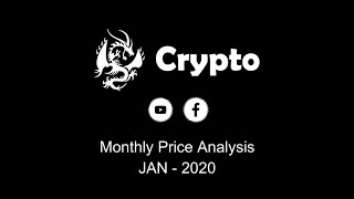Monthly Price Analysis ( Jan - 2020 )  For Top 10 Cryptocurrencies | Crypto Analysis.