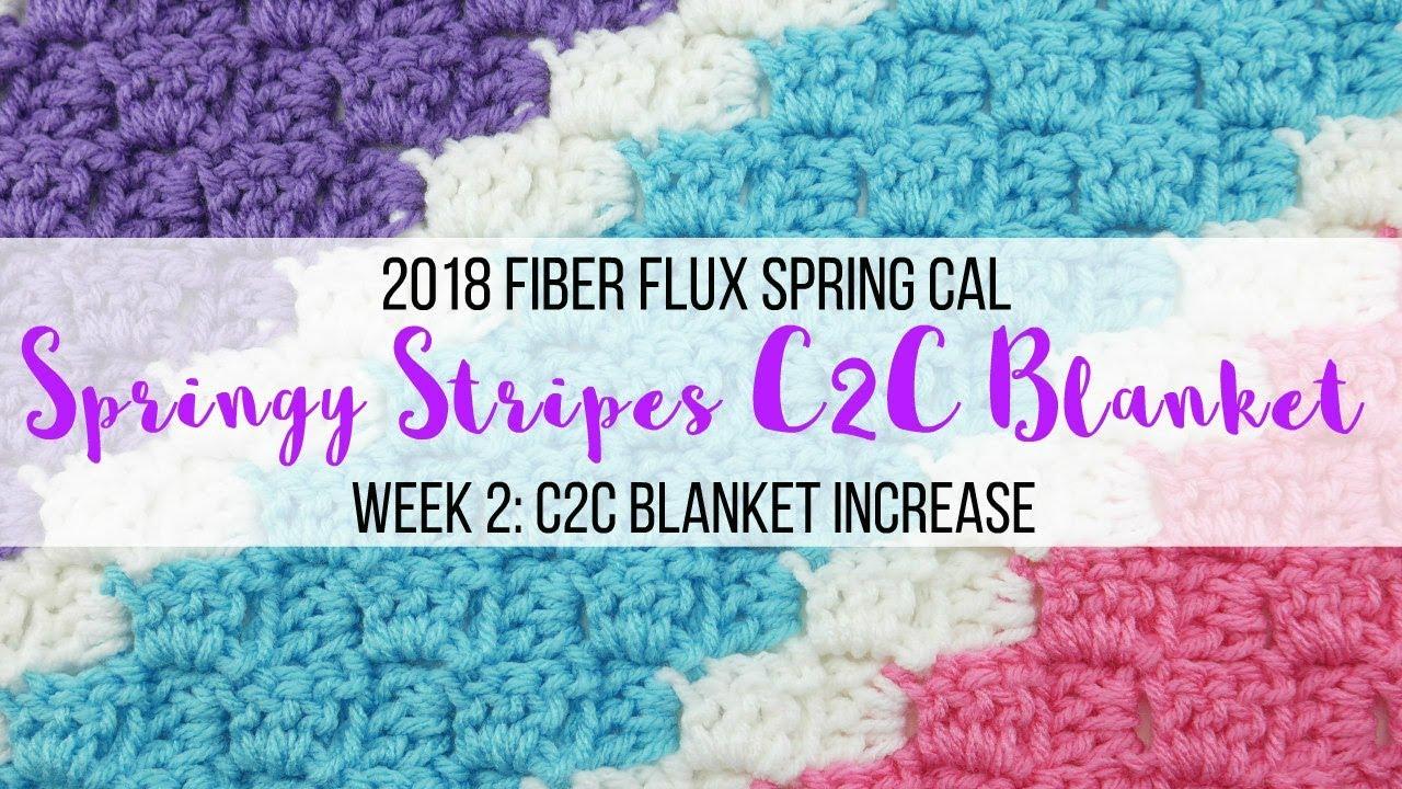 1112 Spring CAL Week 112 C112C Blanket Increase
