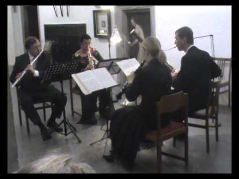 Jean Françaix: Quartet for Wind