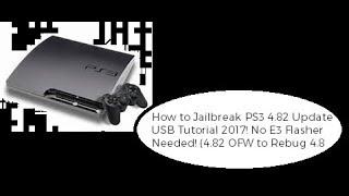 PS3] PS3Xploit Jailbreak PS3 4 82 OFW (Easy) - EdiTzZ
