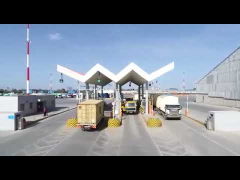 Inland Container Depot Icd In Nairobi Youtube