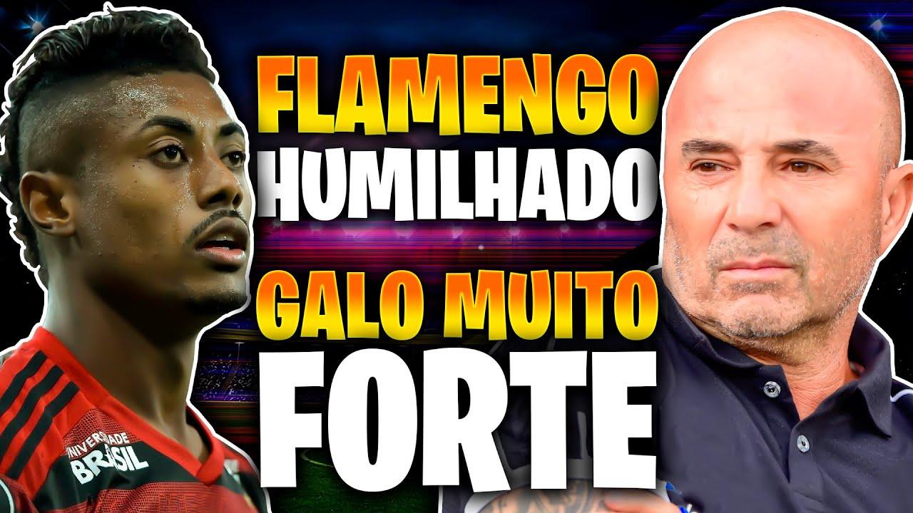 Flamengo é HUMILHADO pelo Atlético-GO 😳 Galo ACABA com o Corinthians 😱 E MUITO MAIS