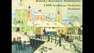 Kalinnikov - Symphony No.1 - 3. Scherzo, Allegro non troppo
