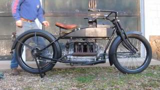 1915 Henderson Motorcycle Model E