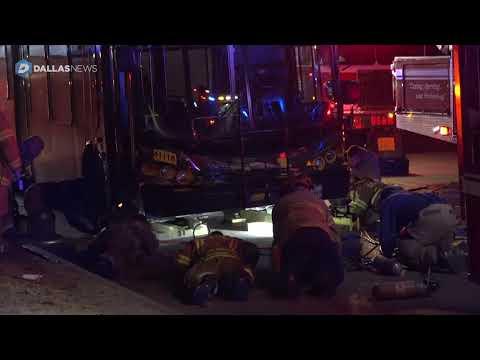 Pedestrian dies after DART bus runs over him