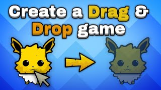 Thumbnail for 'How to make a drag and drop game in Unity'