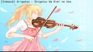 Gambar cover IndoSub Arigatou   Shigatsu Wa Kimi No Uso  Ikimono Gakari