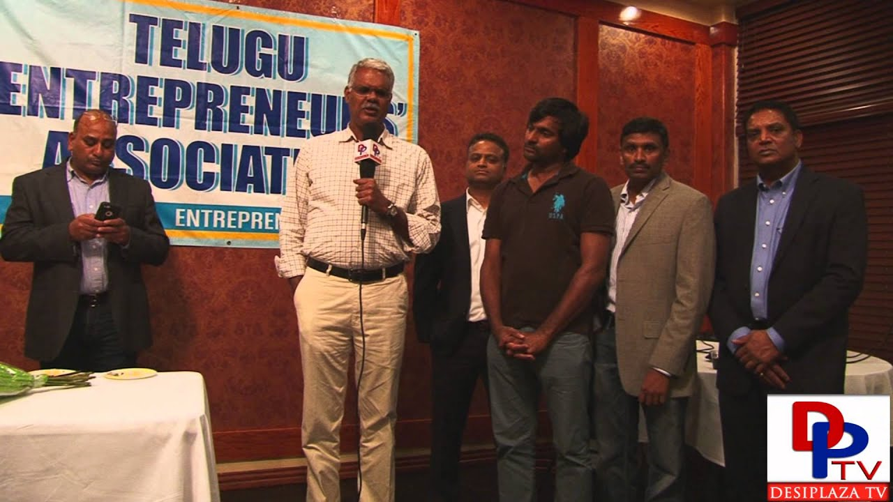 Mr.Rajasekhara Reddy,Entrepreneur from India speaking to Desiplaza TV