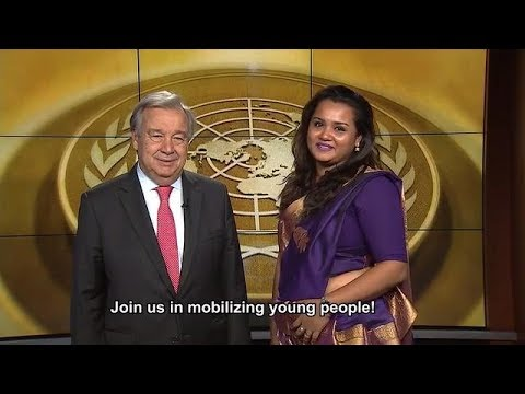 2017 International Youth Day - UN Secretary-General and UN Youth Envoy