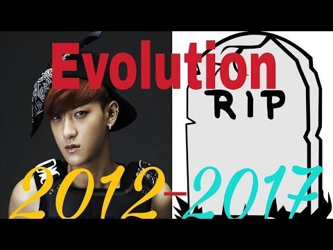 Exo evolution 2012-2017