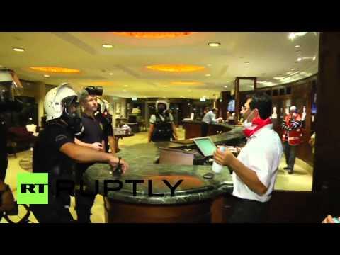 Turkey: Police target every protest refuge, even Hilton Hotel!