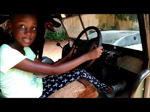 12yr old Motor-Girl Kenya: introduces The Monster