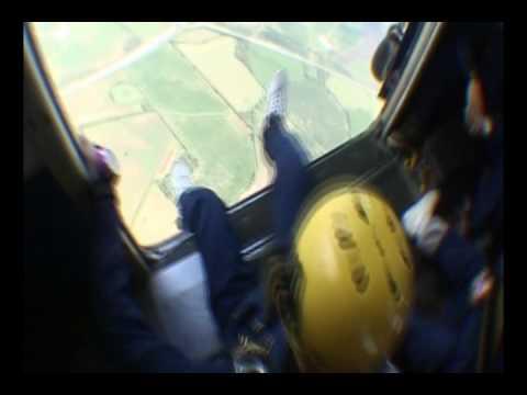 RN Parachuting at RAF Weston on the Green