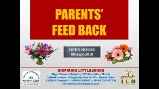 AL Fitrah ILM Ernakulam - Parents' Feedback