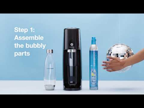 SodaStream - How to Use Your One Touch Sparkling Water Maker