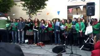 Goza mi calipso + Madrid (bis acuático) _ Orfeón de Malasaña 2012