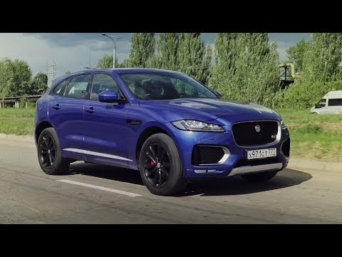 Jaguar f pace тест драйв видео