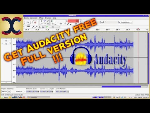 How To Download Audacity For Free 2017 Complete Working!