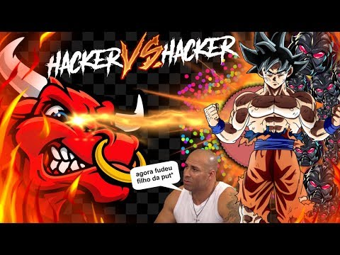 Gota.io - HACKER vs HACKER's // Double KAMEHAMEHAAaa // PT BR // JETTA