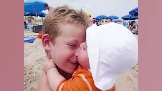 Baby's First Time At The Beach   Funny Baby Video