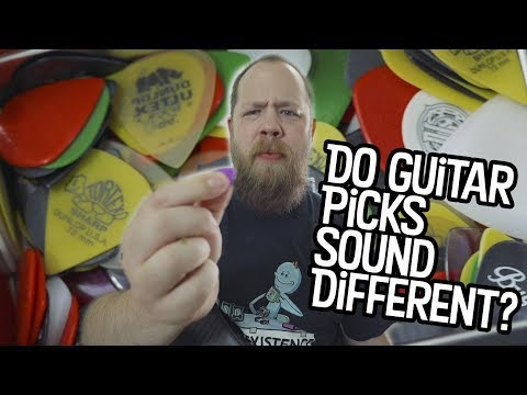Do Guitar Picks Sound Different?
