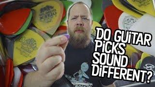 Do Guitar Picks Sound Different?