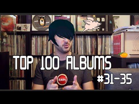 My Top 100 Albums - #31-35 | Vinyl Record Showcase