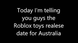 Data di rilascio Roblox giocattoli per l'Australia