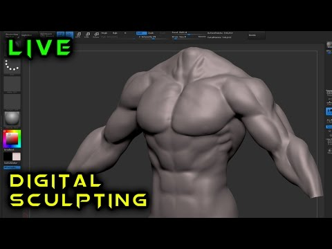 Making an Action Figure from Scratch | 3d Modeling in ZBrush | 1