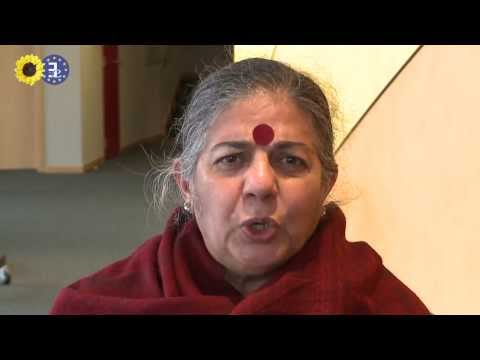 Vandana Shiva explains clearly why GMOs are a death knell to biodiversity and farming