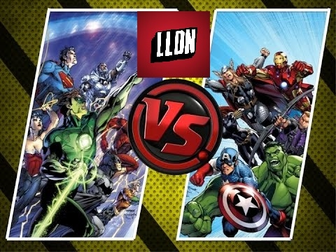 DC COMICS Vs MARVEL : Comic Books (Partie 1)
