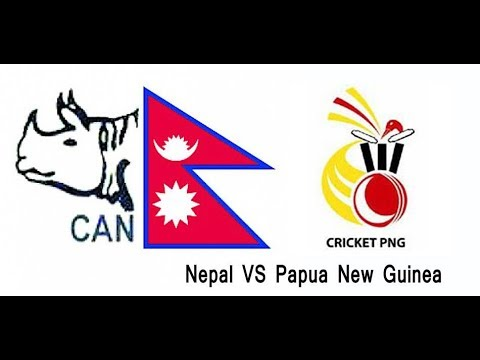Nepal Vs Papuua New Guinea (PNG) Live Match 23nd Match, Play off, ICC World Cup Qualifiers at Harare