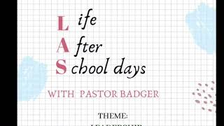 WAO Ministry Life After School Live Service with Sir Badger