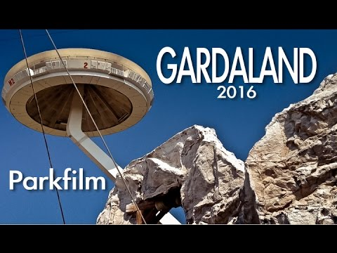 GARDALAND 2016 (Italy) /Amusement Park Video/All Roller Coasters/Impressions/Doku
