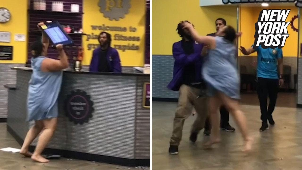 Planet Fitness fight over Tootsie Rolls has woman screaming 'I will kill you!' | New York