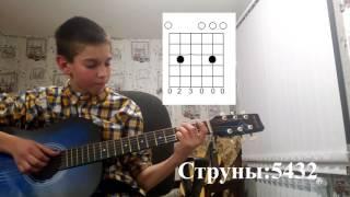 """GuitarPlayer.Как играть мелодию Дениса из сериала """"Кухня"""".Видеоурок."""