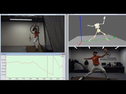 Baseball pitching analysis - Markerless motion capture and analysis of pitching biomechanics