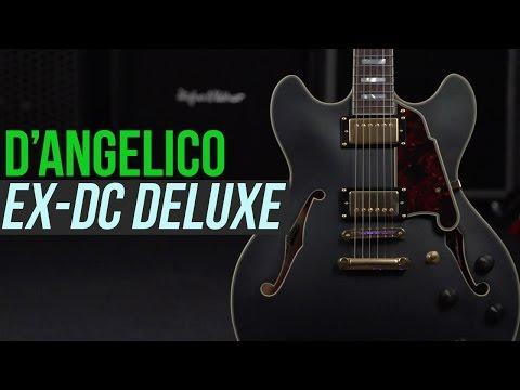 D'Angelico Guitars EX-DC Deluxe