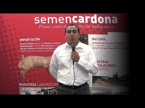 Entrevista a MVZ. Orlando Cadena Gerente General de Semen Cardona Mexico