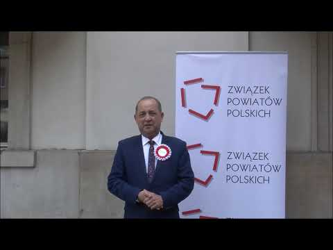 Marek Pławiak, Członek Zarządu ZPP, Starosta Nowosądecki podczas Zgromadzenia Jubileuszowego ZPP