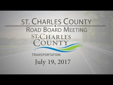 County Road Board Meeting 7-19-17