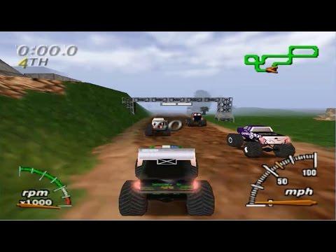 Monster Truck Madness 64 (Nintendo 64 Gameplay)